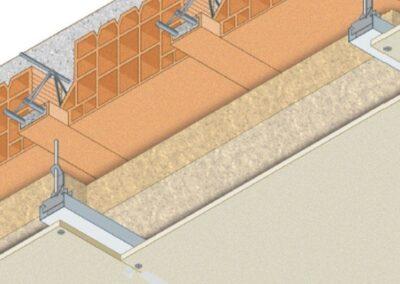 Protezione solaio in laterocemento con controsoffitto in aderenza- Resistenza al fuoco REI 180