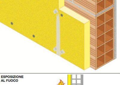 Riqualificazione pareti non portanti- Resistenza al fuoco EI 180