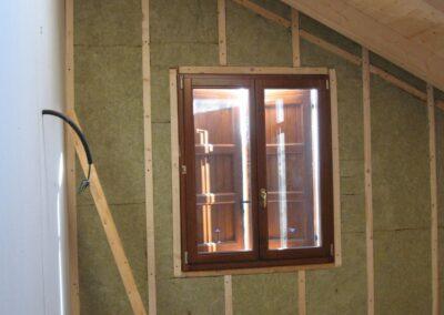 Isolamento termico casa legno